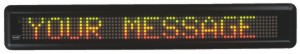 LED scrolling light bar advertising tools and accessories for sale at OfficeJax